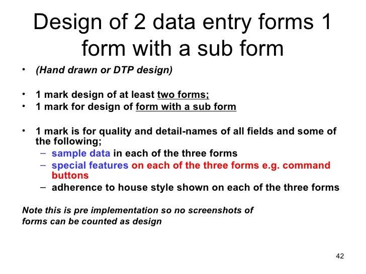 wjec it4 coursework mark scheme