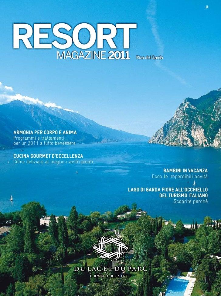 Brochure Hotel Du Lac et Du Parc Grand Resort 2011