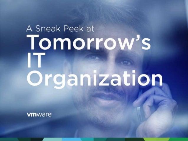 VMware ITaaS: Tomorrow's IT Organization