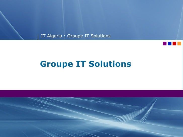 Groupe IT Solutions