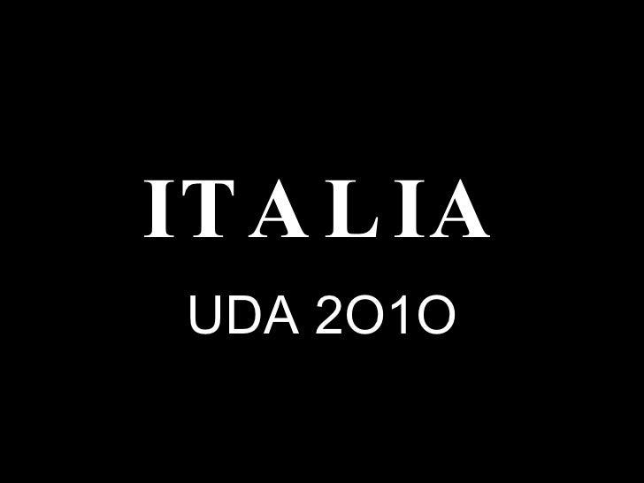 ITALIA UDA 2O1O