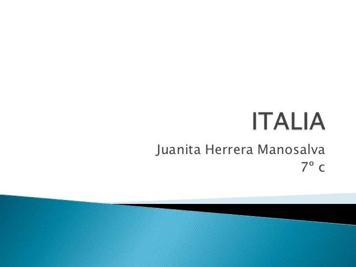 Juanita Herrera Manosalva                     7º c