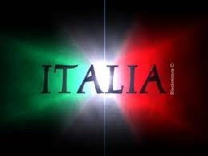 PresentaciónItalia es un país soberano miembro de la Unión Europea. Su territorio lo confirman la Península Itálica y dos ...