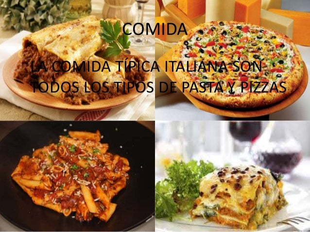 Powerpoint italia alex tom s for Pasta tipica italiana