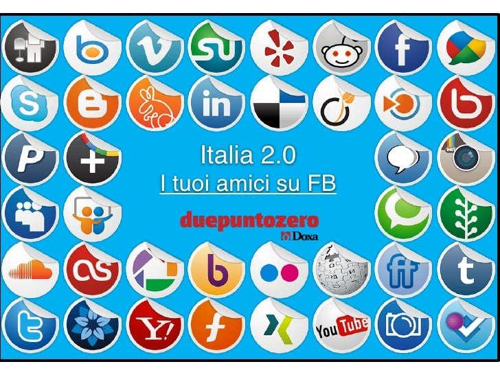 Italia 2.0I tuoi amici su FB         Strictly confidential - All rights reserved   1