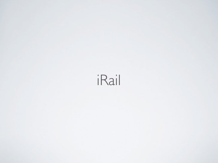 iRail