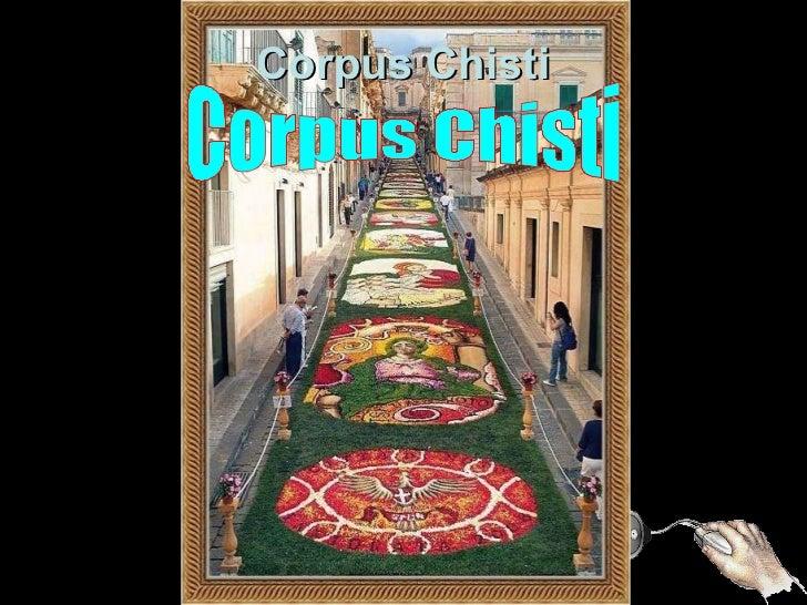 I T Á L I A Tapete de Flores Corpus Chisti Corpus Chisti