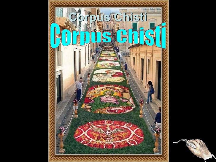 Corpus Chisti    ITÁLIATapete de Flores
