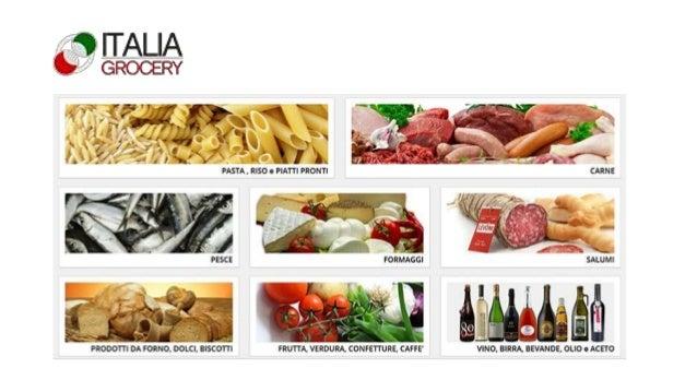 Perchè? Portiamo la cultura della cucina italiana nel mondo, il cibo delle aziende che lavorano per offrire prodotti sani ...