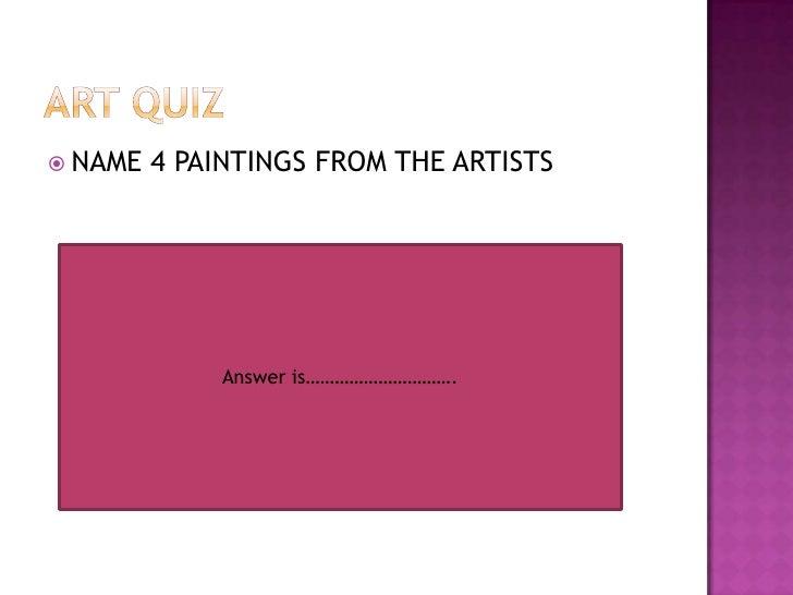 Art Quiz : Italian artists d.d.b2.3