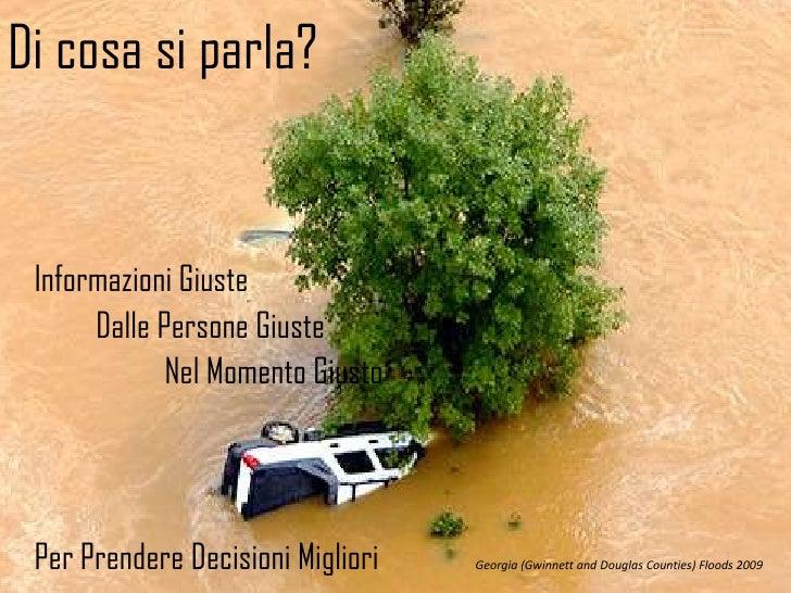 Italian Version: Disasters 2.0: Collaborazione in Tempo Reale: Documentazione e Mapping  Slide 2