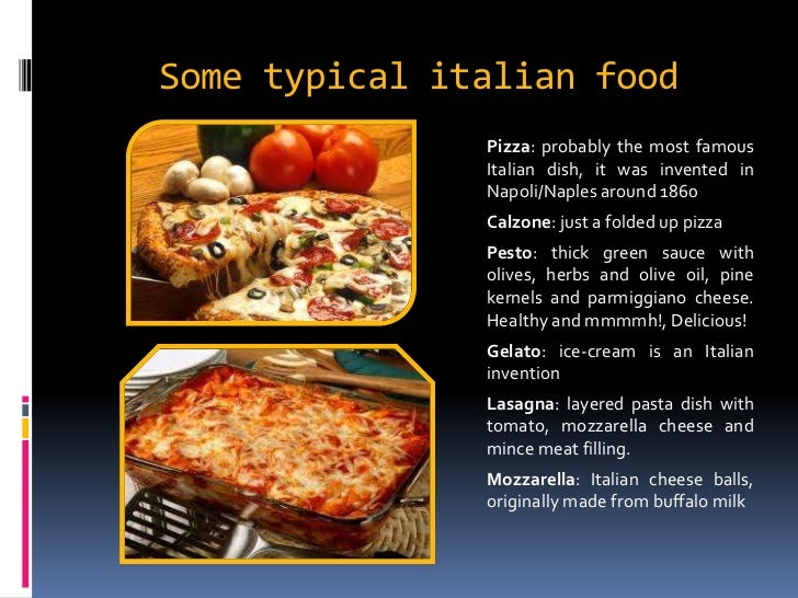 What Are Some Healthy Italian Foods