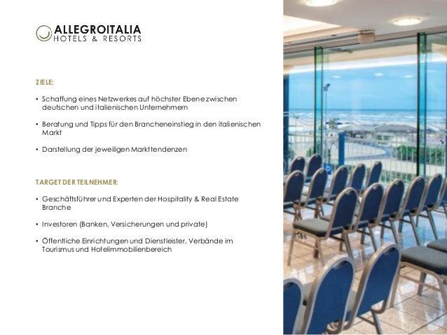 Italian-German Hospitality & Real Estate Forum in Rimini, Italien | 23./24. Juni 2016 Slide 2