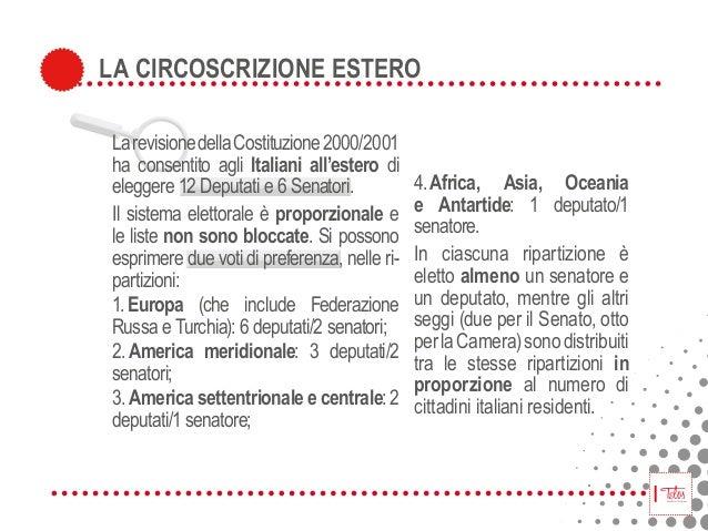 Italiani votate for Numero deputati italiani