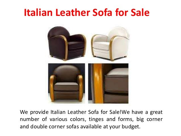 High Quality Italian Leather Sofas
