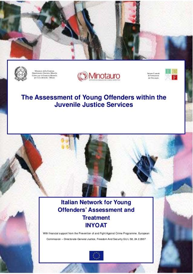 Ministero della Giustizia   Dipartimento Giustizia Minorile                                                               ...