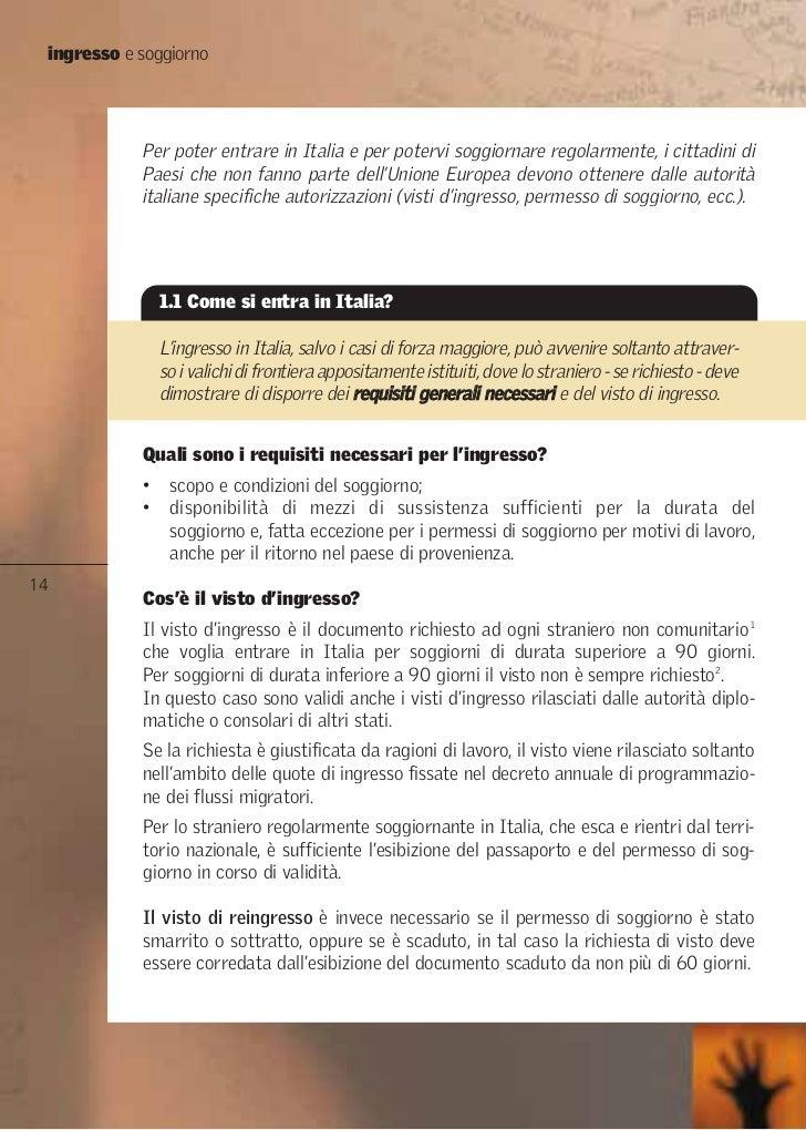 Awesome Requisiti Carta Di Soggiorno Photos - Design Trends 2017 ...
