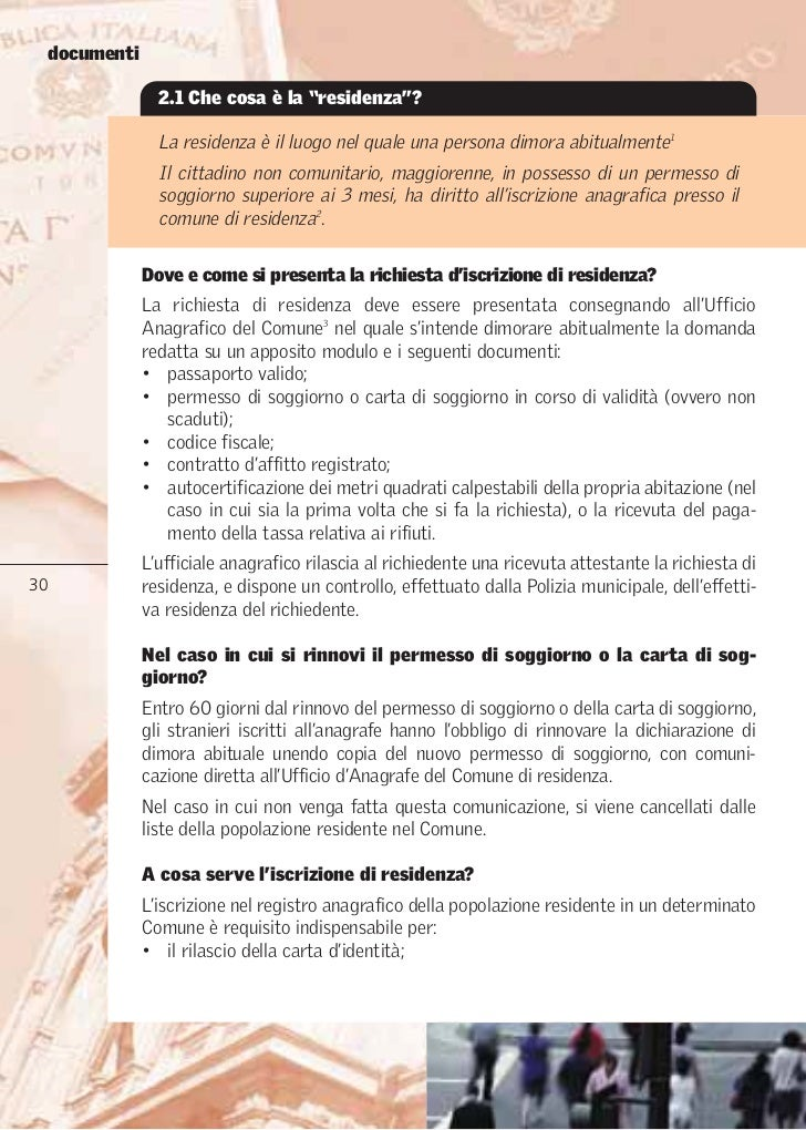 Beautiful Rinnovo Carta Di Soggiorno Per Matrimonio Ideas - Modern ...