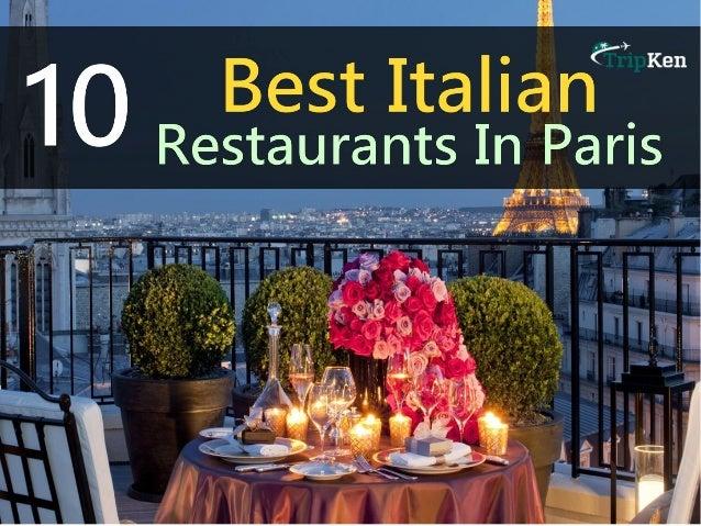 Restaurants Italian Near Me: 10 Best Italian Restaurants In Paris