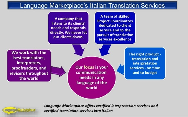 Italian Language Translation To English: Italian Translation Services