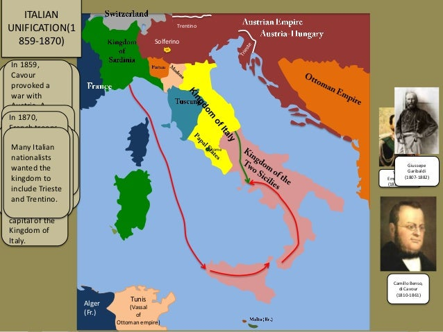 Italian unification 18591871 animated map