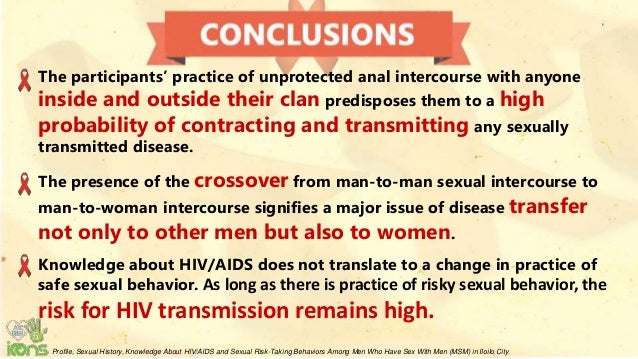 Aids from anal sex