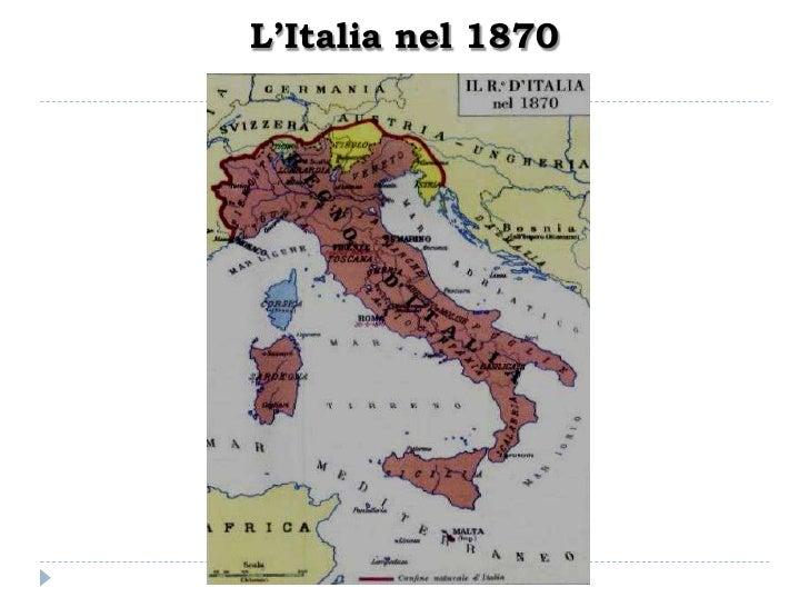 Cartina Italia Unita 1861.L Italia Unita 1861 1890