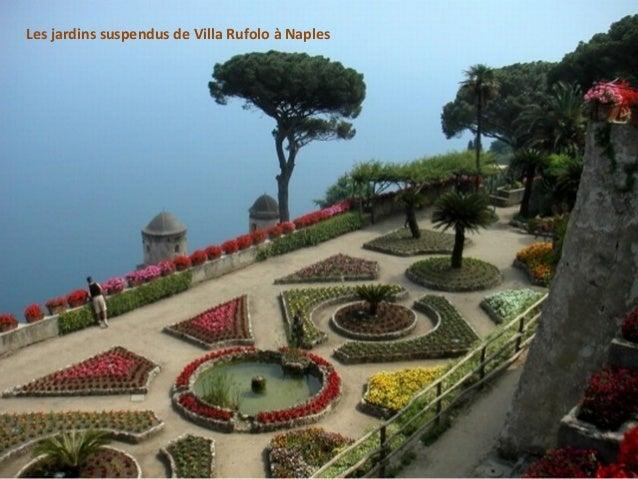 Les jardins suspendus de Villa Rufolo à Naples