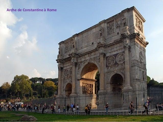 Arche de Constantine à Rome