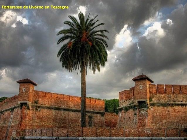 Forteresse de Livorno en Toscagne