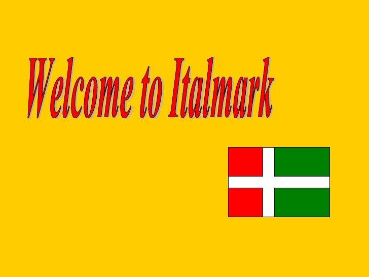 Welcome to Italmark
