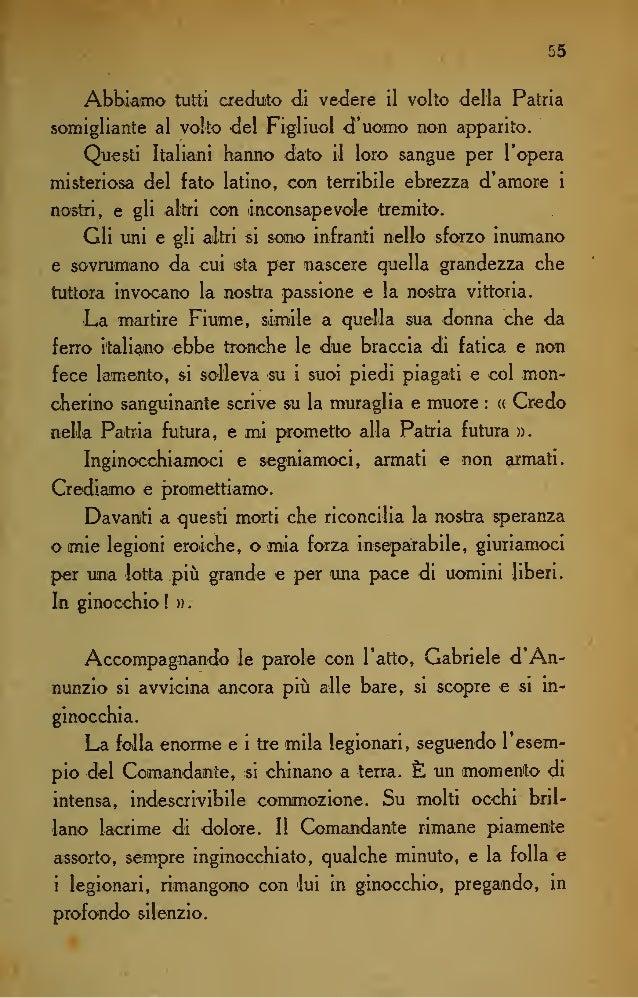 62 <leir inviato speciale del (( Times », pubblicata dalla Ve- detta d'Italia : (( Ho Ietto coni molta sorpresa sulla Vede...