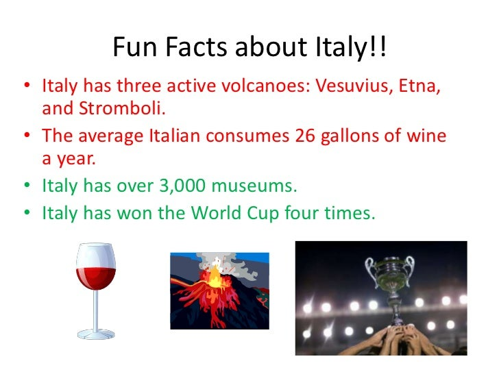 5 Fun Facts About Italy