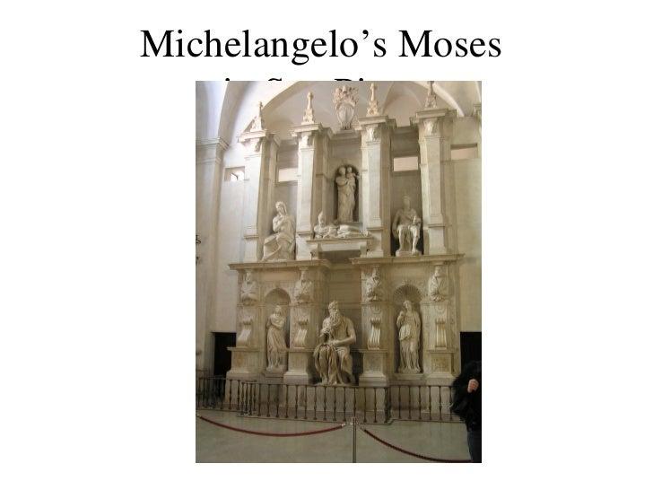 Michelangelo's Moses  in San Pietro