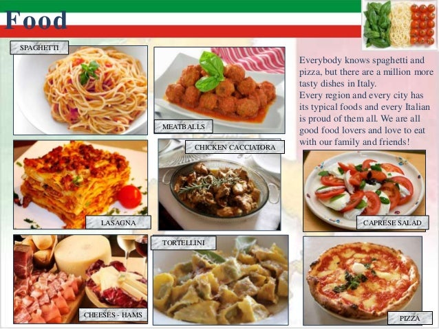 italian cuisine powerpoint Powerpoint courses italian cuisine the italian cuisine is one of the most varied cuisines italy was unified in 1861 italian food.