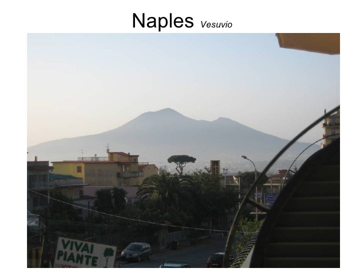 Nap les   Vesuvio