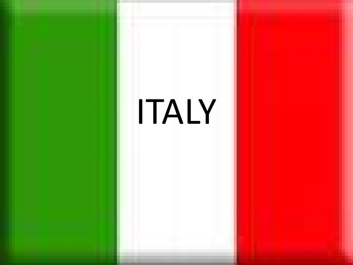 ITALY<br />