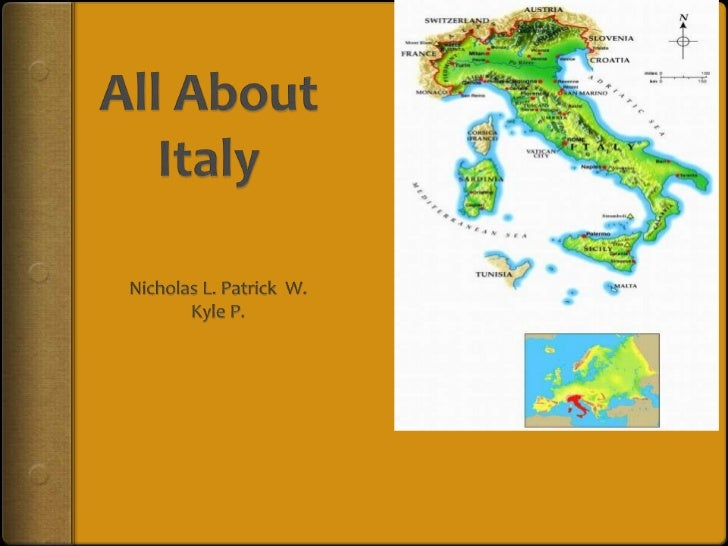Introduction of Italy The official name of Italy is Republic of Italy. The capital of Italy is Rome. The population of ...