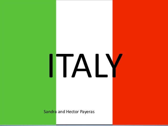 ITALY Sandra and Hector Payeras
