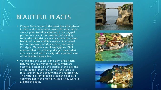 Italy travel project