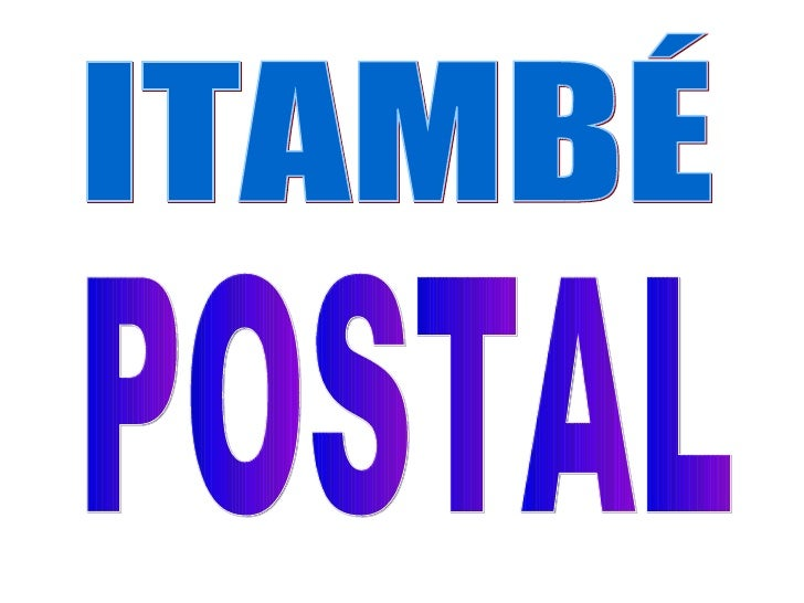 ITAMBÉ POSTAL