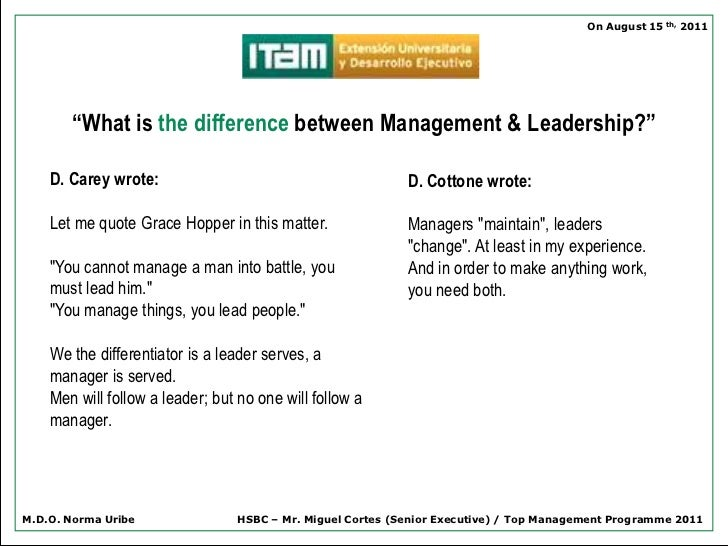 what is the distinction between management Management and administration may seem the same, but there are differences  between the two administration has to do with the setting up of objectives and.