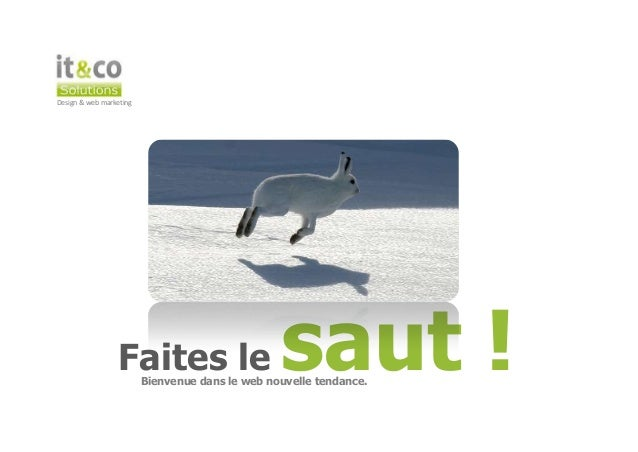 Design & web marketing                 Faites le                       saut !                         Bienvenue dans le we...