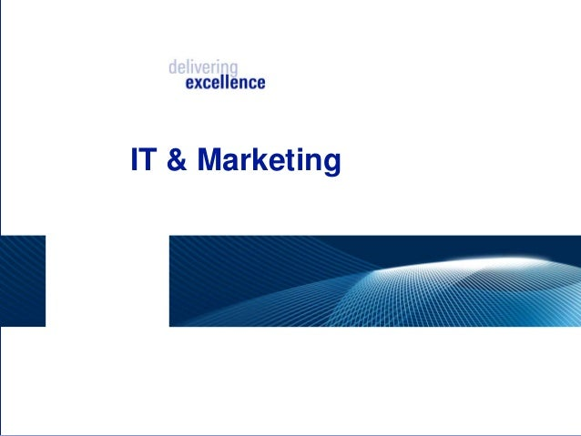 IT & Marketing