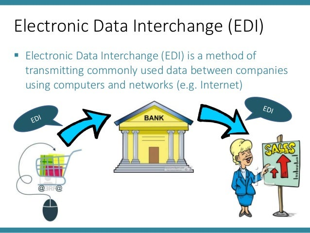 Electronic Data Interchange EDI – Components,Applications, Advantages