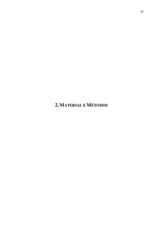 29  2. MATERIAL E MÉTODOS