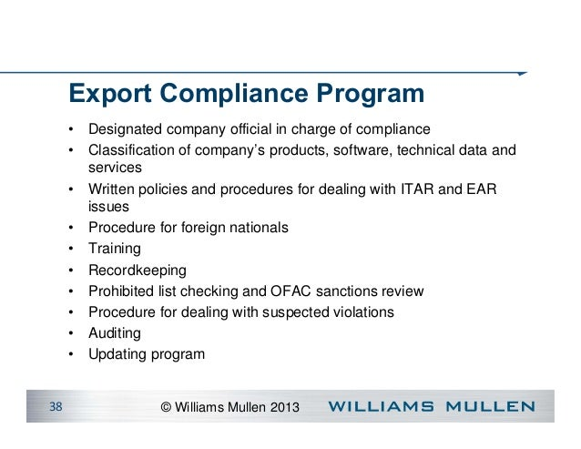 ITAR For Defense Industry Executives