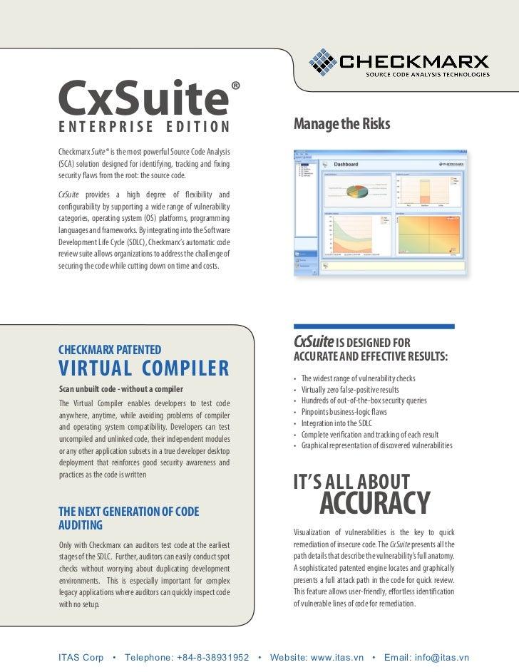 CxSuiteenterpriSe edition                                                                ®                                ...