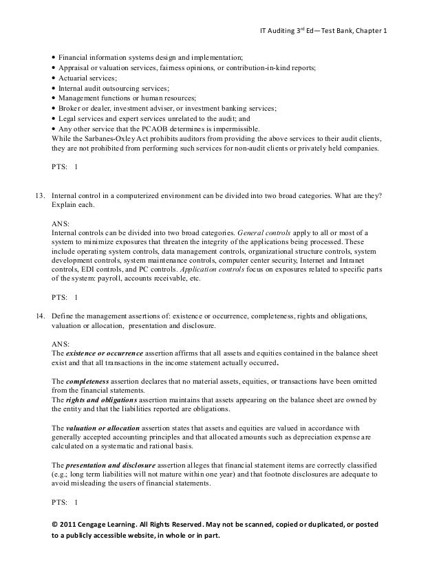 audit test bank ch 1 auditing Product description crush the auditing and attestation (aud) section of the cpa exam by using our test bank of almost 500 aud questions the aud multiple choice questions in our test bank are designed to be similar in style with recent exams.