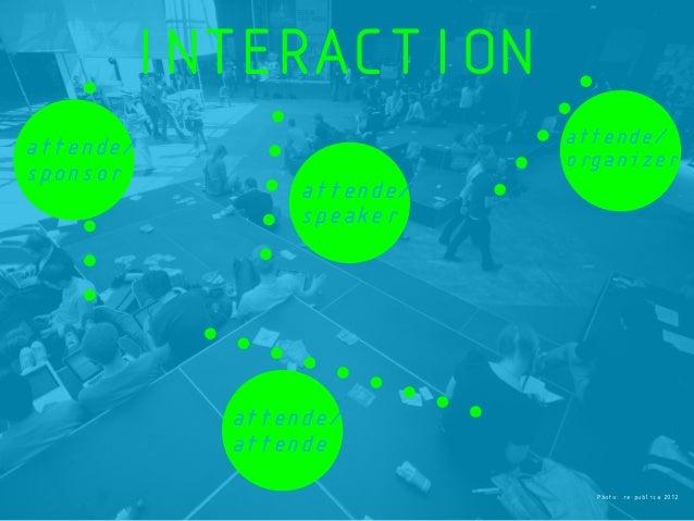 Photo: re:publica 2012 attende/ attende attende/ sponsor attende/ speaker attende/ organizer INTERACTION